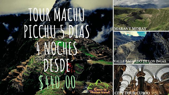 Viaje a Machu Picchu 5 Dias
