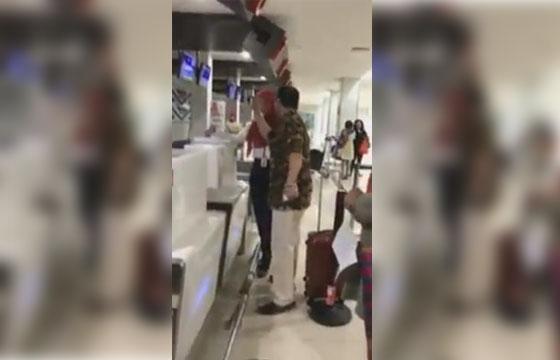 Video Viral, Pria Mengamuk di Bandara Radin Inten Lampung