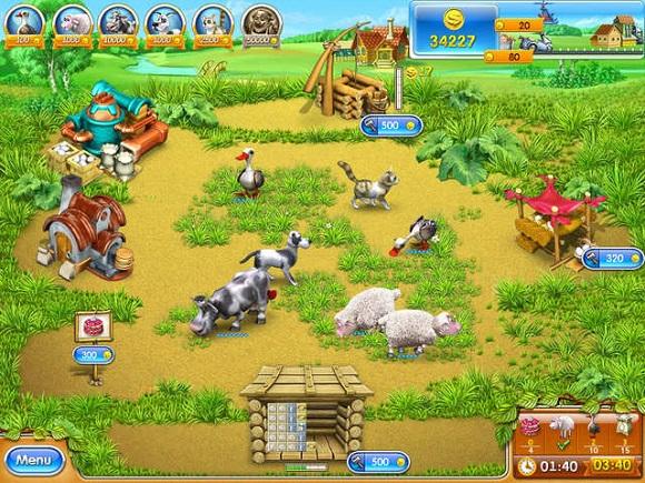 Enjoy the farmhouse antics with this complete set of Farm Frenzy titles Farm Frenzy 10 in 1 Bundle ISO-RAiN
