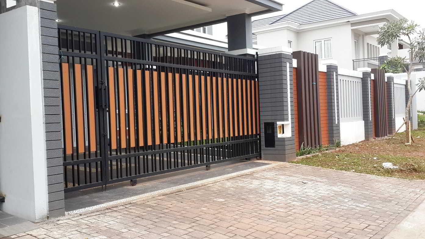60 contoh model desain pagar rumah minimalis modern terbaru