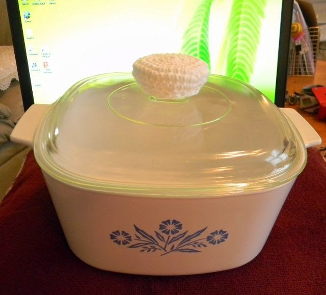 CorningWare Glass Cookware Lid Potholder