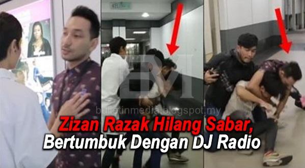 Zizan Razak Hilang Sabar, Bertumbuk Dengan DJ Radio Ketika Hadir Untuk Temuramah Radio Pagi Tadi