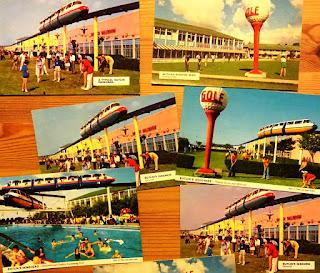 Butlin's postcards