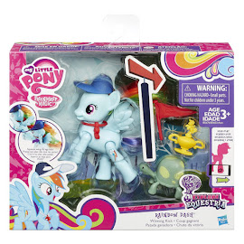 My Little Pony Action Play Pack Wave 1 Rainbow Dash Brushable Pony