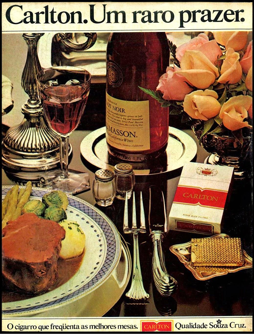 1978.propaganda anos 70; história decada de 70; reclame anos 70; propaganda cigarros anos 70. Brazil in the 70s. Oswaldo Hernandez;