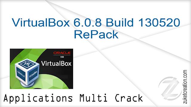 VirtualBox 6.0.8 Build 130520 RePack   |  166 MB