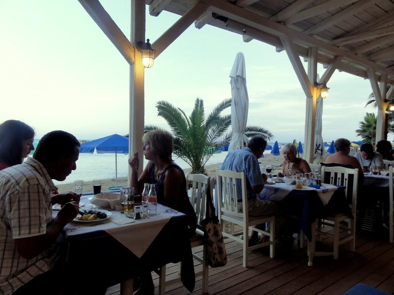 Kefalonia Greece Dinner In Katelios Bay At Medusa Taverna And Coffee Alexis