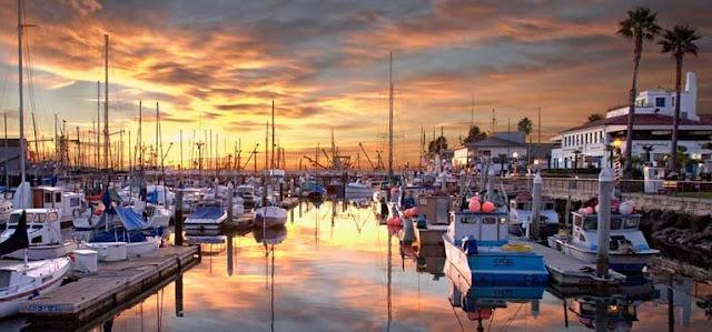 Pier Stearns Wharf em Santa Bárbara