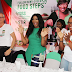 Gorgeous Omotola Jalade shows off dance moves at shareameal event
