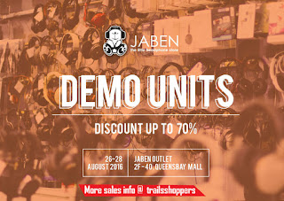 Jaben Demo Units Sale