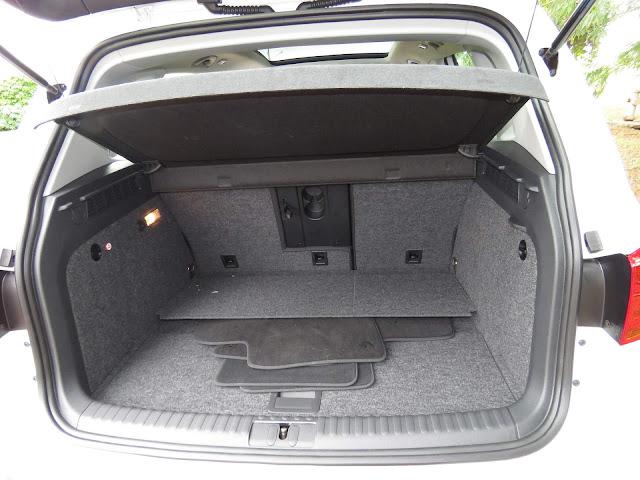 VW Tiguan 1.4 TSI 2017 - porta-malas 470 litros