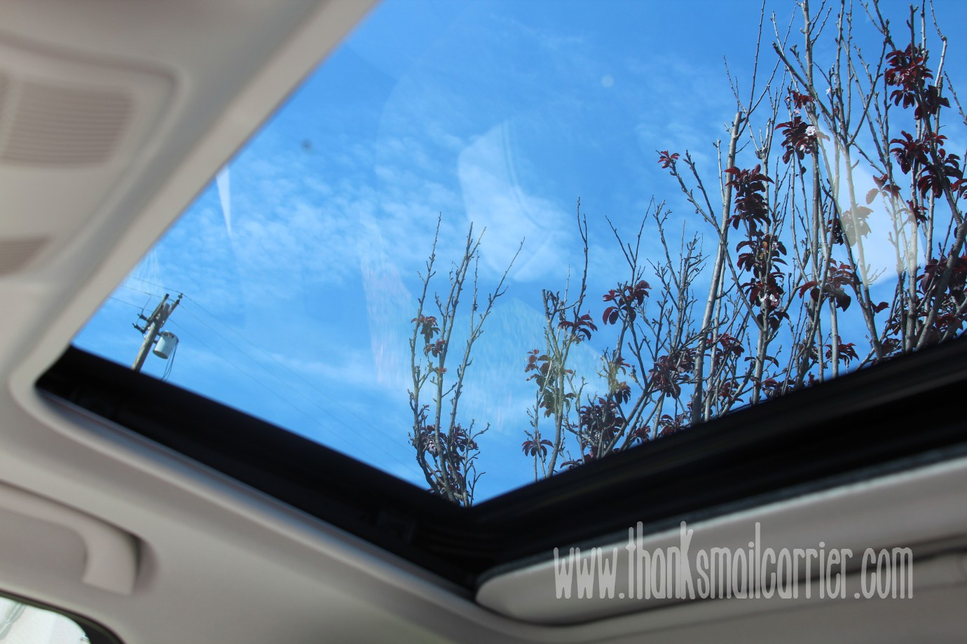 Mazda6 moonroof