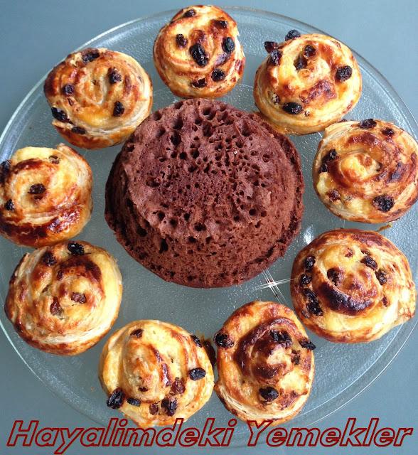 5 dakikada kek tarifi