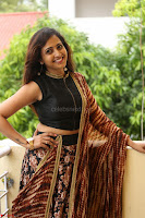 Lasya looks super cute in black choli Saree at Raja Meru Keka Press Meet ~  Exclusive 020.JPG