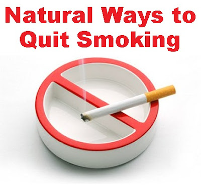 Natural ways to quit smoking cigarettes