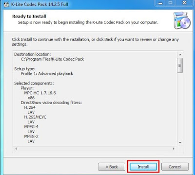 Install codec
