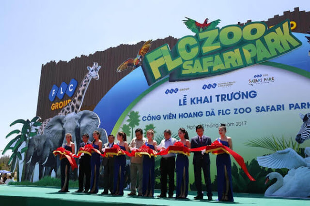 Khu công viên vườn thú FLC Safari Quy Nhơn