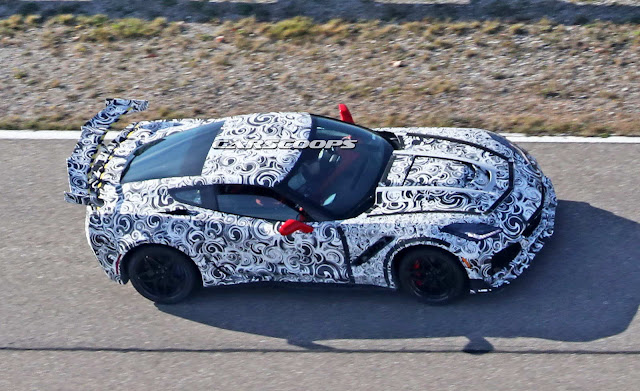 2018 Chevrolet Corvette ZR1 with Up to 750 hp