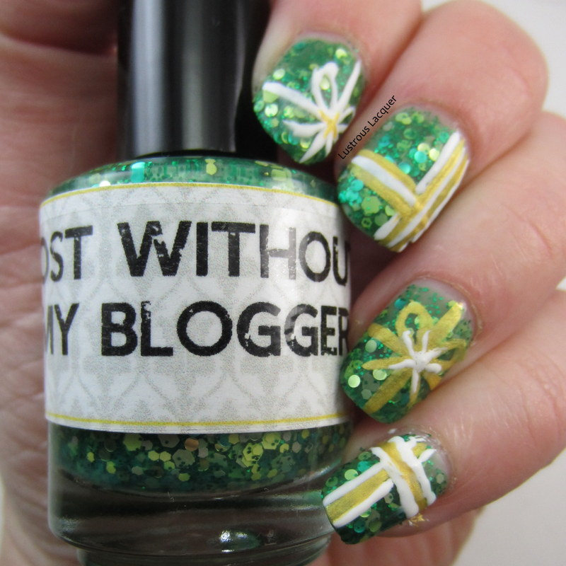 The 12 Days of Christmas Nail Art Challenge Day 11: Presents - <em ...