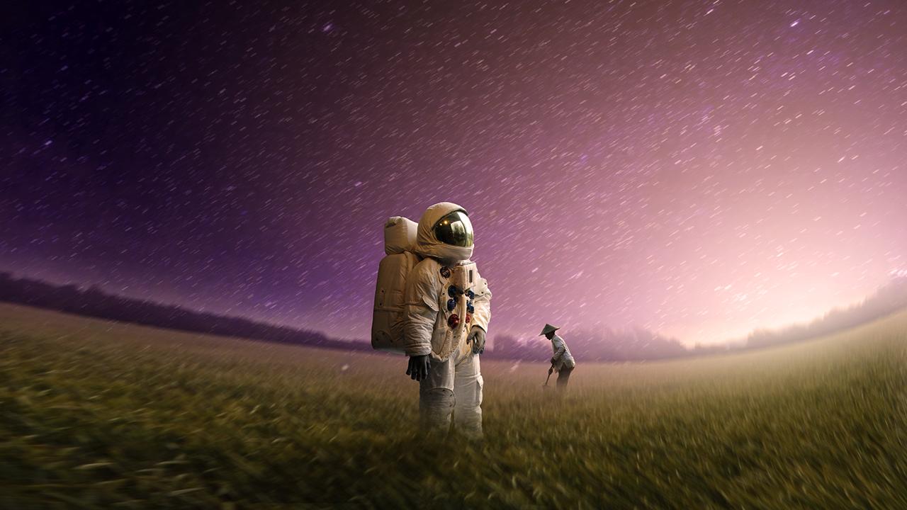 Photoshop Effects - Astronauts Lost | Photo Manipulation ...