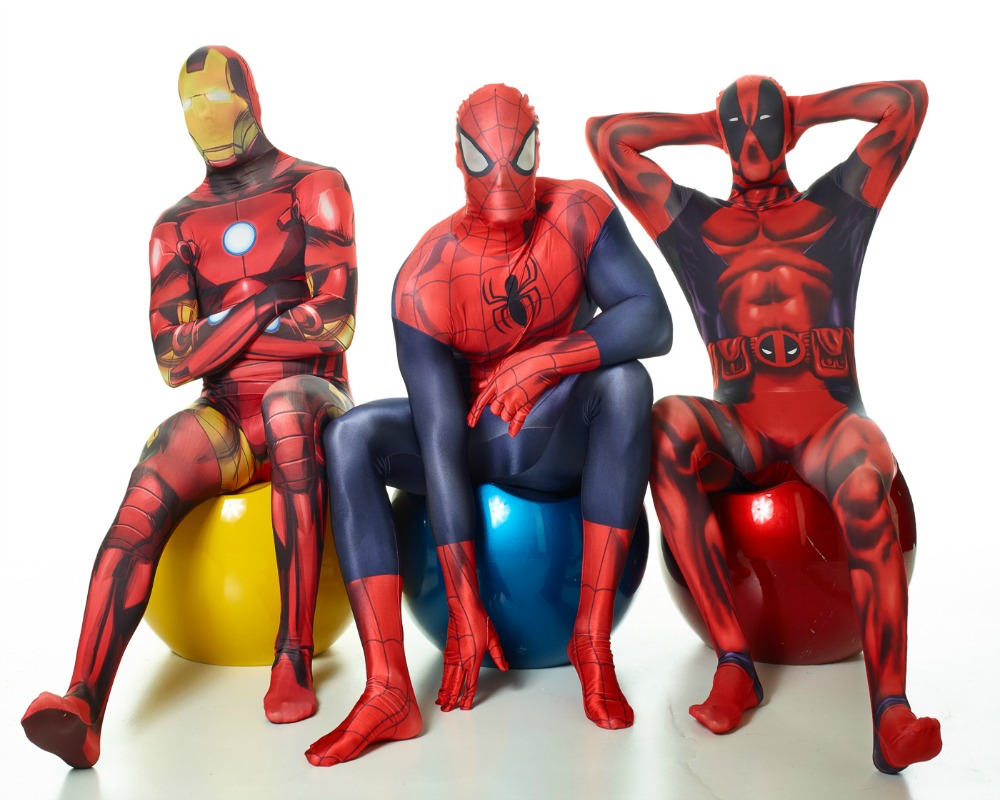 we were recently given the opportunity to review a deadpool morphsuit we had been looking for a suitable halloween costume for the husband for a while - Morphsuits Halloween Costumes