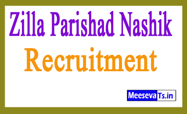 Zilla Parishad Nashik Recruitment Notification