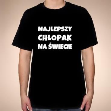 T-shirt Najlepszy chłopak na świecie