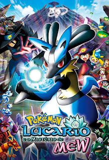 Pokémon: Lucario e o Mistério de Mew - BDRip Dual Áudio