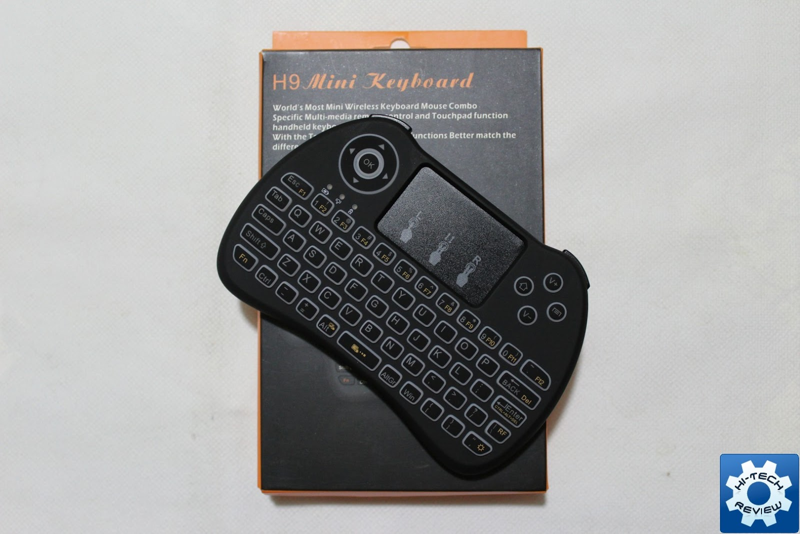 Recensione: qpau mini tastiera wireless con touchpad e tasti