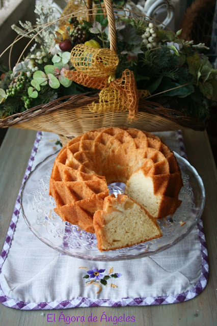 Bundt Cake Con Trozos De Pera