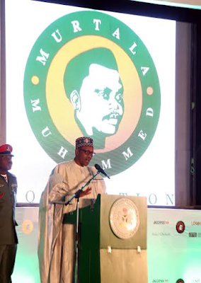 Biography of Murtala Muhammed; also Murtala Muhammed's 40th Memorial Lecture delivered by President Buhari