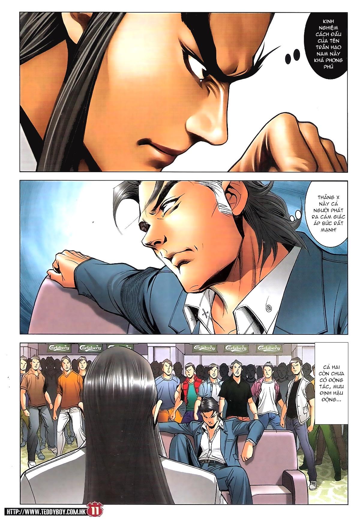 Người Trong Giang Hồ chapter 1809: bát phương phong vũ tụ hoa môn trang 8