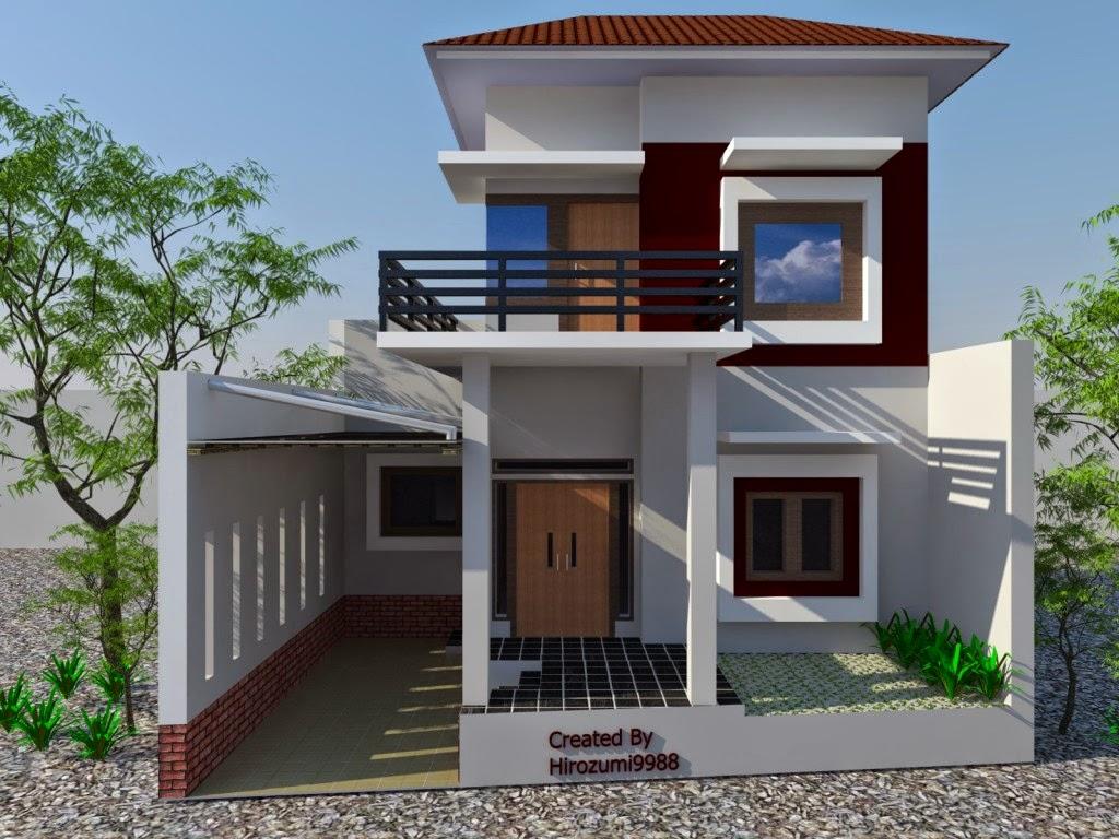 Konsep Terbuka Untuk Desain Rumah Minimalis Modern 2 Lantai