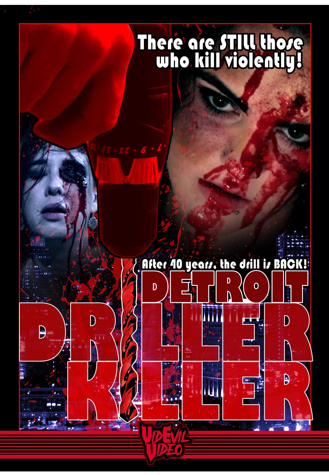 Detroit Driller Killer (2020) English 720p WEBRip 900MB ESubs