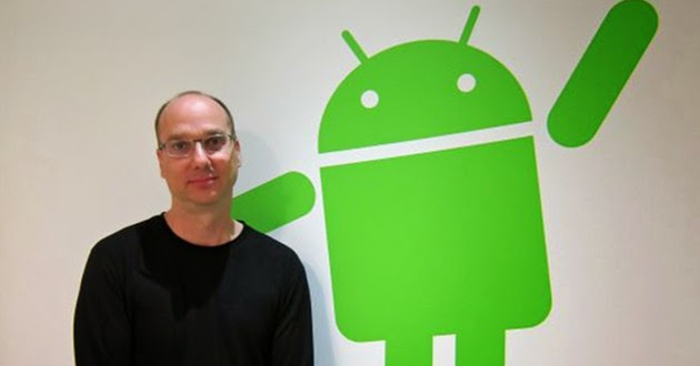 Andy Rubin Operating System Android مخترع نظام التشغيل اندرويد google