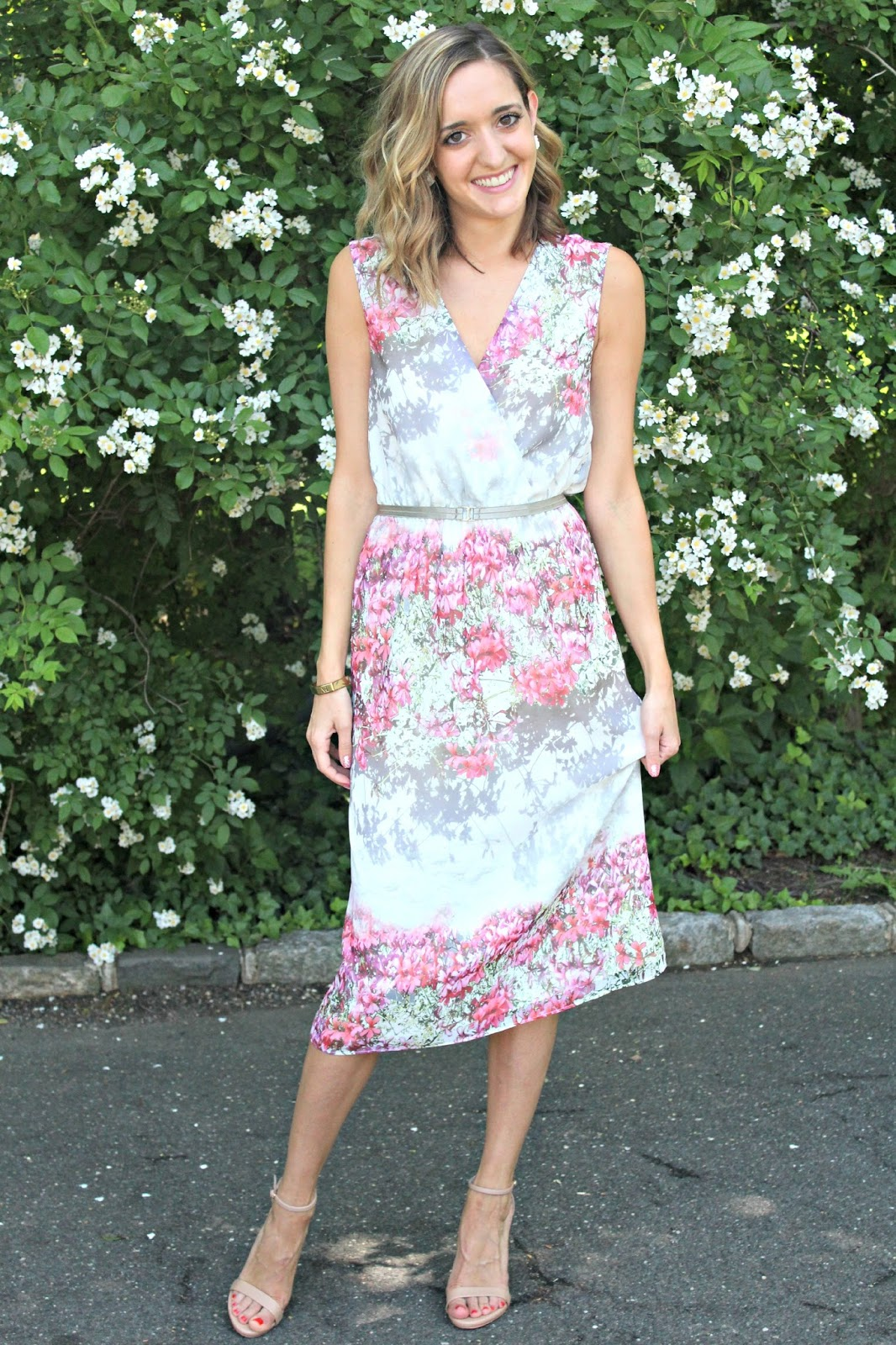 ladylike floral dress