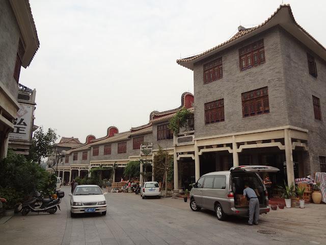 Tiendas en el gran horno Nanfeng en Foshan
