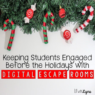 Digital Holiday Escape Room