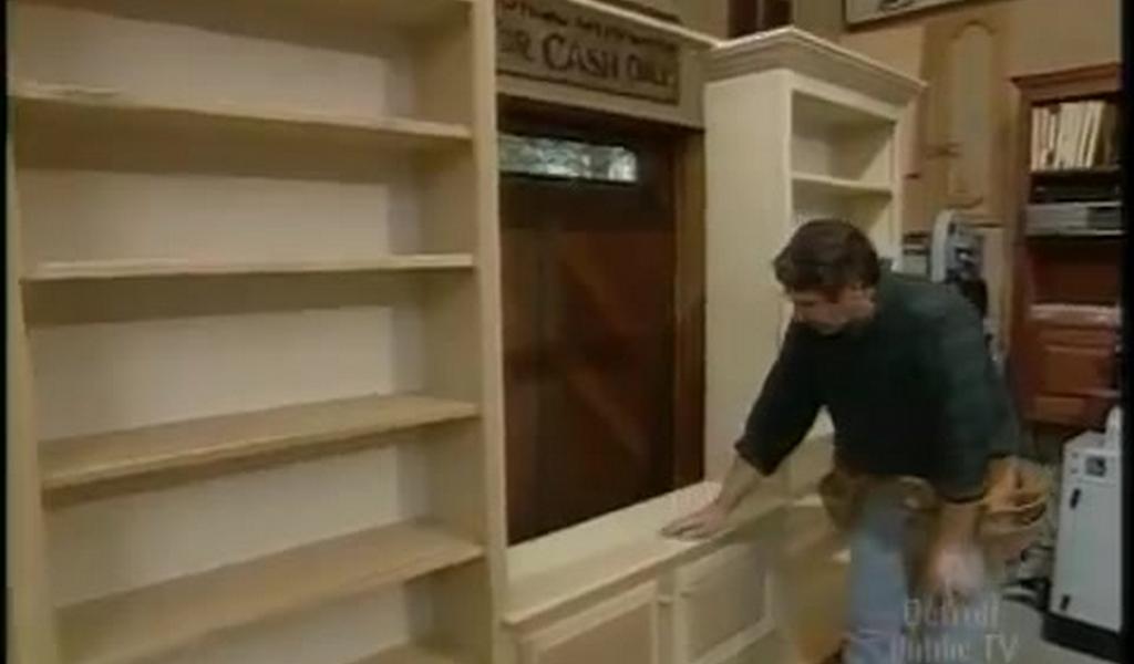 hacer mueble tv madera Como Hacer Un Librero Moderno De Madera Hgalo Usted Mismo