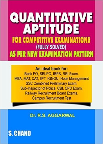 S Chand Dr R S Aggarwal Quantitative Aptitude Fully