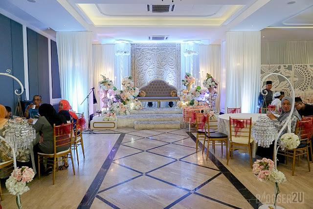 Pelamin Dewan perkahwinan Ambassador Putrajaya