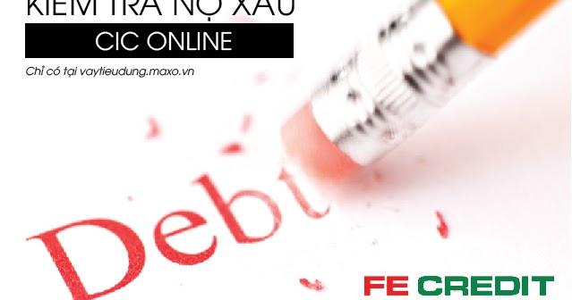 kiểm tra nợ xấu cá nhân
