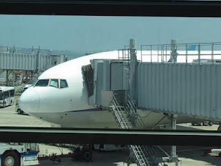 Flight to Sapporo