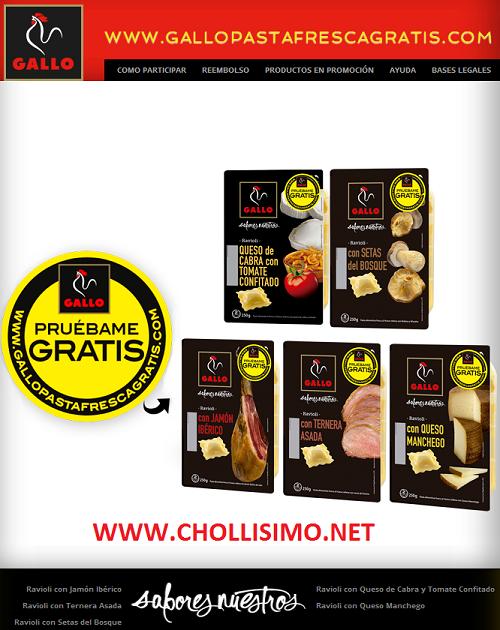 Pasta Gallo GRATIS
