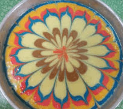 Resepi Kek Minyak Kukus Warna-Warni