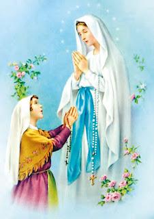 Oração para Nossa Senhora de Lourdes para pedir uma graça