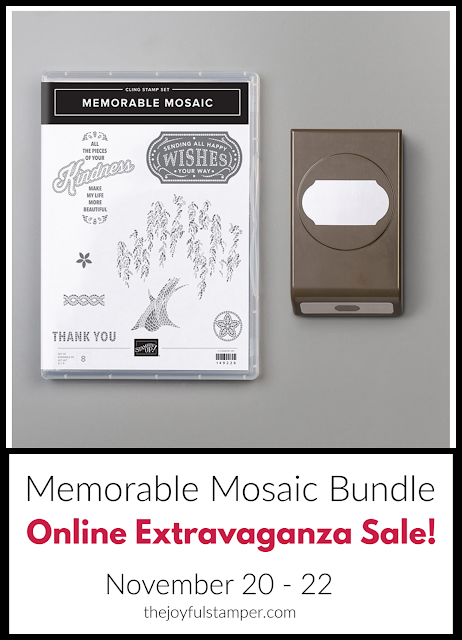 Memorable Mosaic bundle - Online Extravaganza Sale