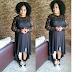 Veteran Actress,  Sola Sobowale Looks Stunning in all black ensemble