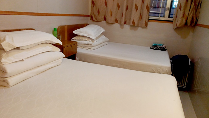 Golden Crown Guesthouse, Nathan Road, TST, Hongkong