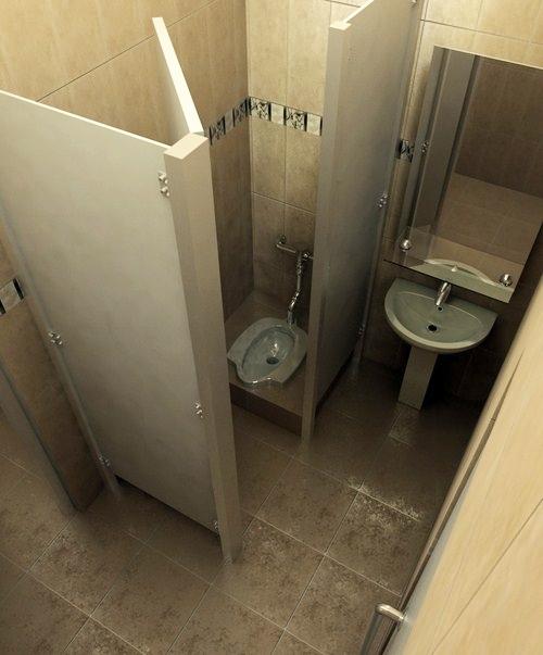 5 Desain Kamar Mandi Menggunakan WC Jongkok | Rumah ...